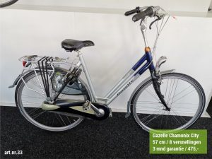 Damesfiets Gazelle Chamonix City 57cm
